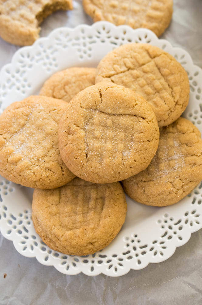 Soft and Chewy Peanut Butter Cookie recipe