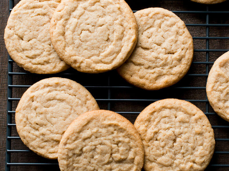 Soft and Chewy Peanut Butter Cookies