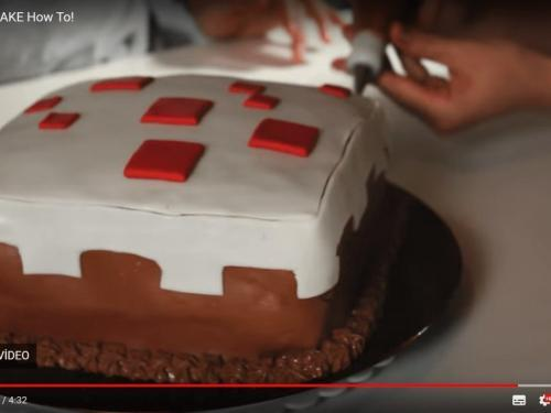 Minecraft Cake Recipe For Birthdays How To Make Mineccraft Cake