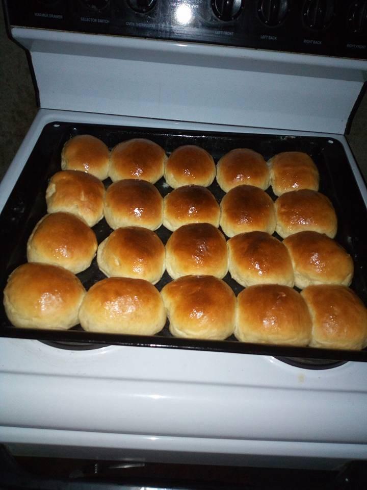Home made buns recipe