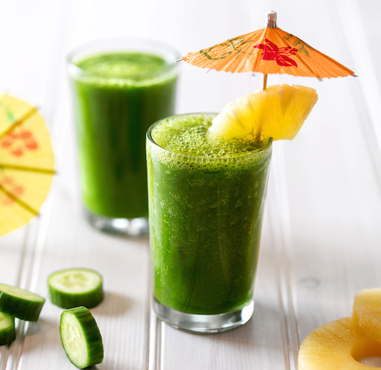 Cucumber and Pineapple Smoothie Recipes