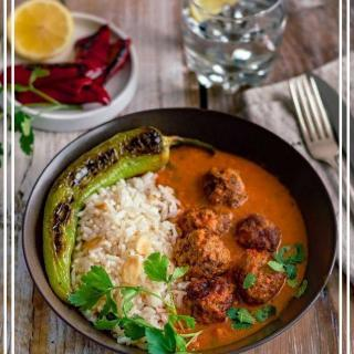 Meatballs With Indian Curry Sauce Recipe