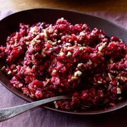 Divine Tasting Cranberry Orange Relish Recipe