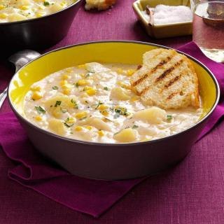Corn Chowder Recipe So Easy to Make