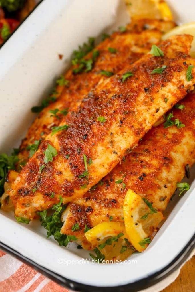 Delicious Blackened Tilapia Recipe