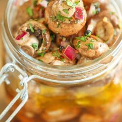 Delicious Marinated Mushroom Recipe