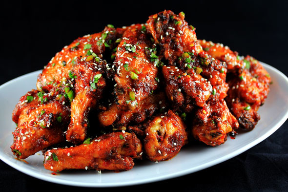 Delicious Sweet and Sour Baked Chicken Wing Recipe