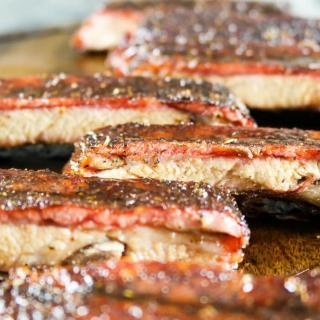 Succulent Honey Glazed Spareribs