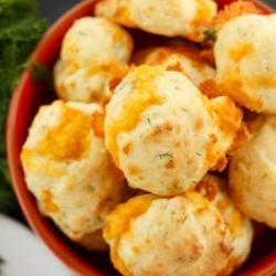 Cheese and Dill Puffs Recipe