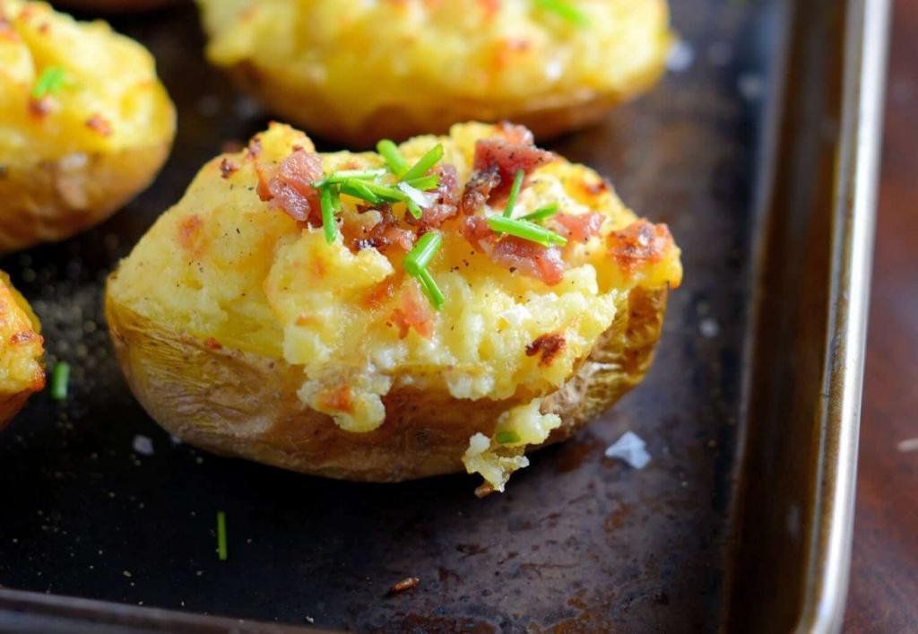 Cheesy and Delicious Twice Baked Potato Recipe