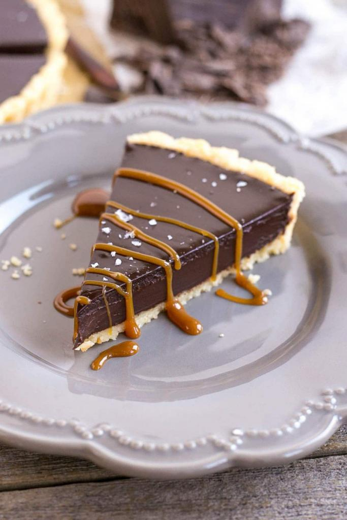 Dark Chocolate Ganache Tart Defines Dessert