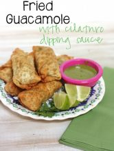 Fried Guacamole Recipe