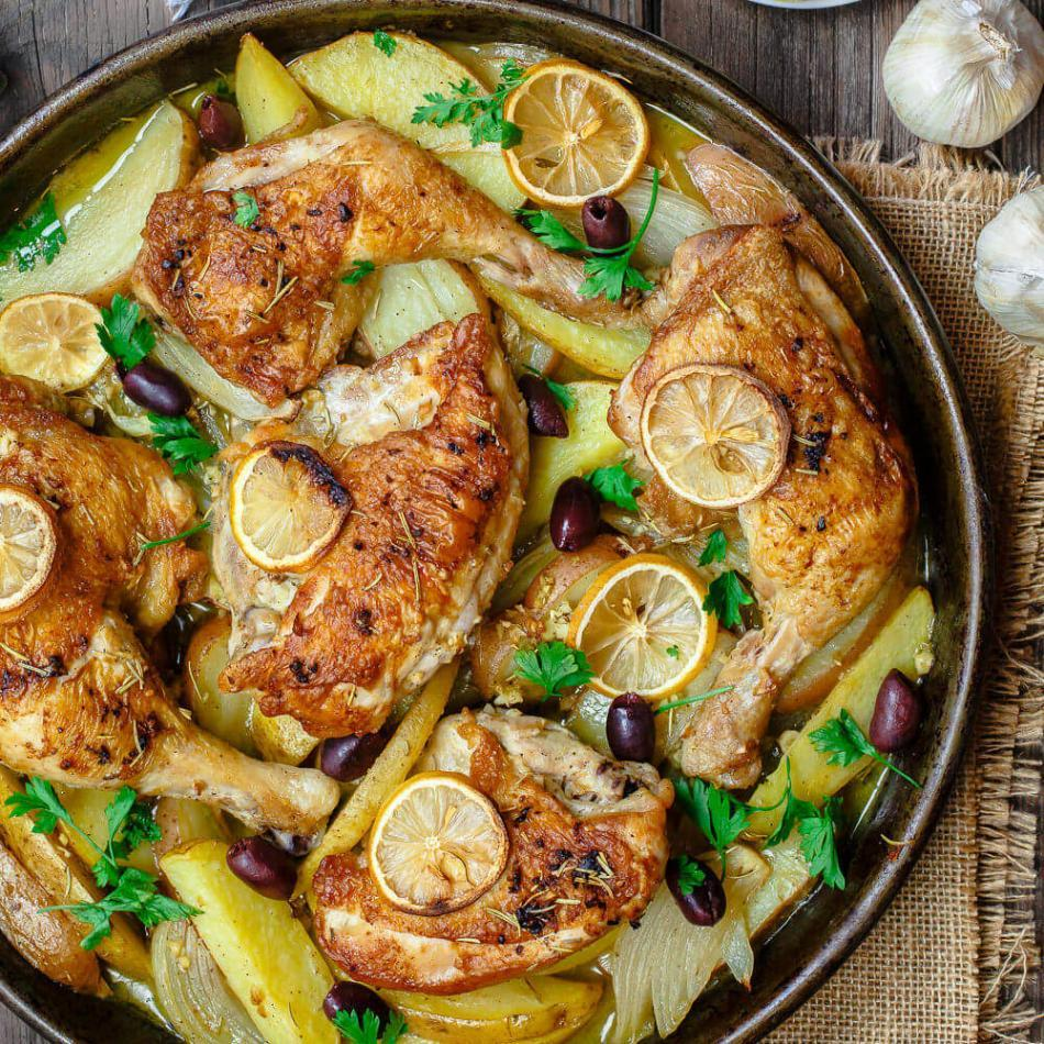 Easy Delicious Greek Chicken Recipe