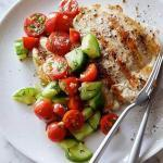 Grilled Chicken with Tomato Salad Recipe