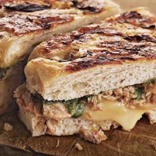 Delicious Grilled Tuna Panini