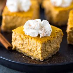 Keto Pumpkin Cheesecake Recipe