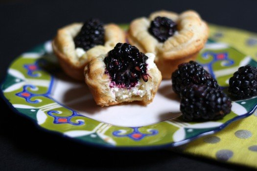 Lemon Blackberry Goat Cheese Tartlets Recipe 2