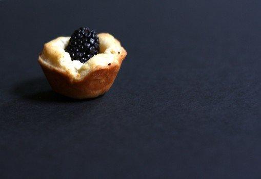 Lemon Blackberry Goat Cheese Tartlets Recipe 1