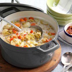 Slow Cooker Lima Bean Soup Recipe, Yummy