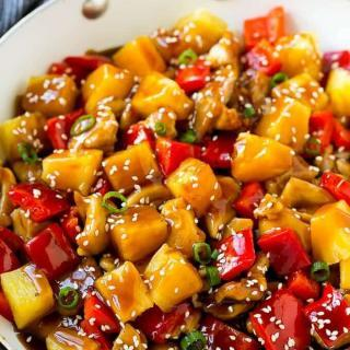 Juicy And Delicious Pineapple Chicken Recipe