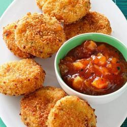 Easy Scrumptious Potato Fritters