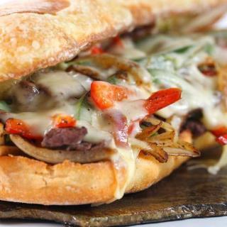 Delicious Philly Cheese Steak Sandwich Recipe