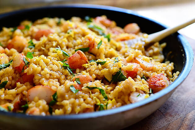 SHRIMP RISOTTO RECIPE