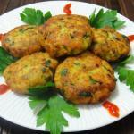 Salmon Cutlets With Fresh Herbs