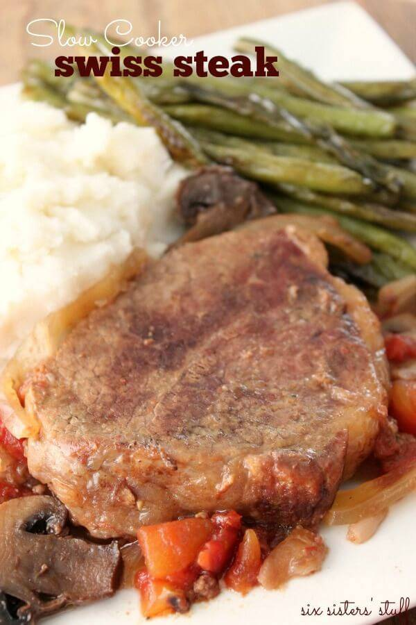 Scrumptious Slow Cooker Swiss Steak