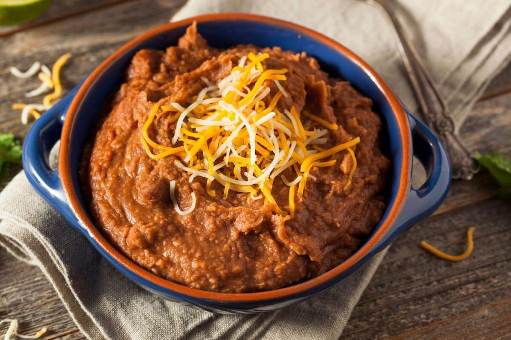 Spicy Refried Beans Recipe