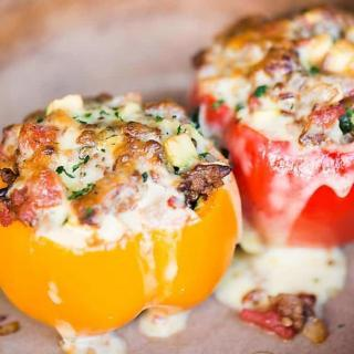 Stuffed Bell Pepper Recipe, To Die For