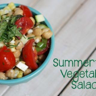 Summertime Vegetable Salad Recipe
