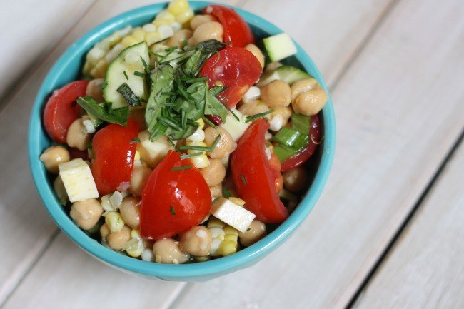 Summertime Vegetable Salad Recipe 1