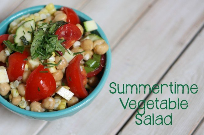 Summertime Vegetable Salad