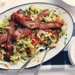 bacon crispy salad