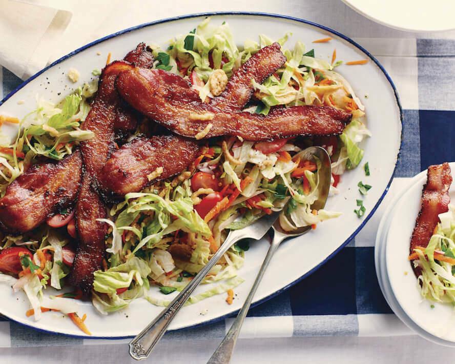 bacon crispy salad