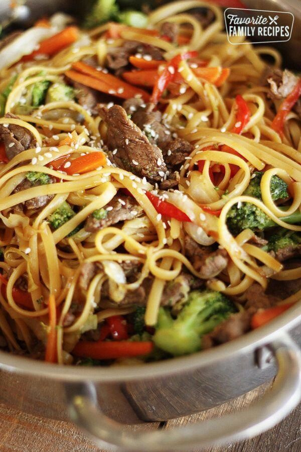 beef and Noodles Recipe