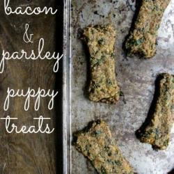 Bacon & Parsley Puppy Treats Recipe
