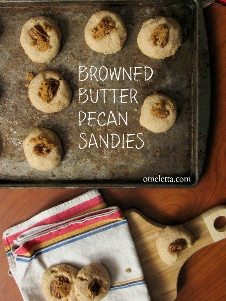 Browned Butter Pecan Sandies Recipe