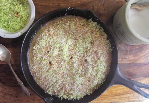 Cast-iron Lime Poke Cake Recipe 3