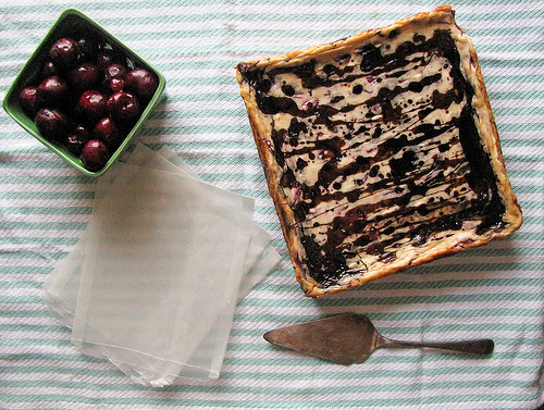 Cherry Balsamic Cheesecake Bars Recipe 1