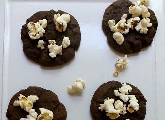 Chocolate Popcorn Cookies Recipe 1