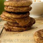 Cinnamon Apple Sandwich Cookies Recipe