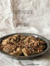 Crispy Potato and Apple Bake