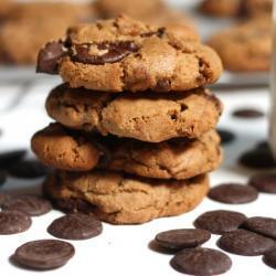 Double Chocolate Peanut Butter Cookies Recipe