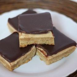 Frosted Peanut Butter Chocolate Bars Recipe