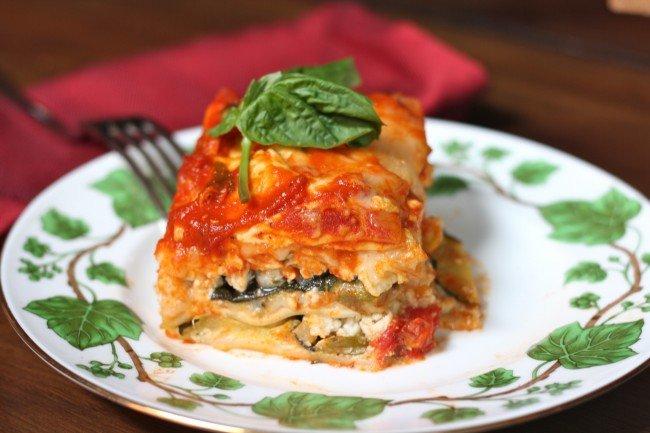 Grilled Vegetable Lasagna Recipe 2