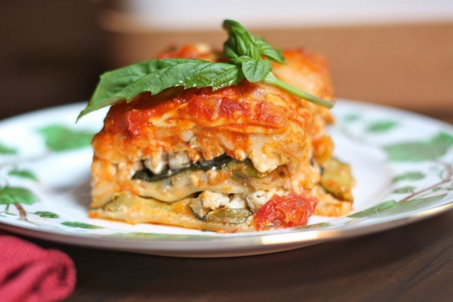 Grilled Vegetable Lasagna Recipe