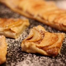 Peanut Butter Apple Tart Recipe