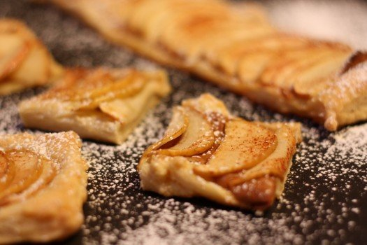 Peanut Butter Apple Tart Recipe